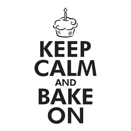 Keep Calm Bake On Wall Quotes Decal Wallquotes Com