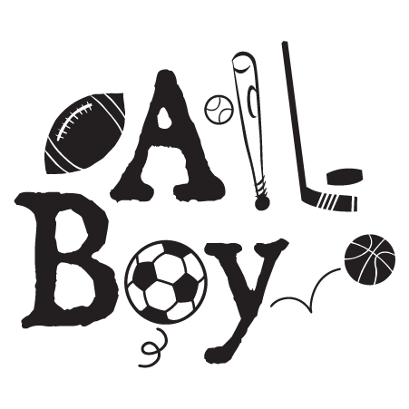 All Boy Sports Wall Quotes Decal Wallquotes Com