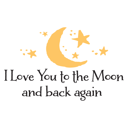 Love You To The Moon Liam Wall Quotes Decal Wallquotes Com