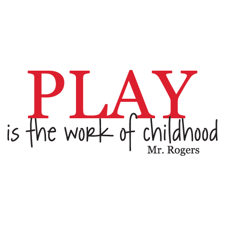 Quotes About Play Mesmerizing Play Is The Work Of Childhood Wall Quotes™ Decal  Wallquotes