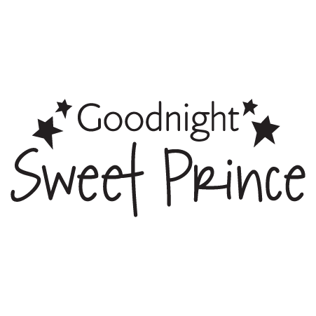 Goodnight Sweet Prince Wall Quotes Decal Wallquotes Com