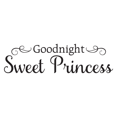 Goodnight Sweet Princess Wall Quotes Decal Wallquotes Com