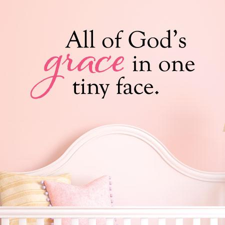 All Of Gods Grace Wall Quotes Decal Wallquotescom