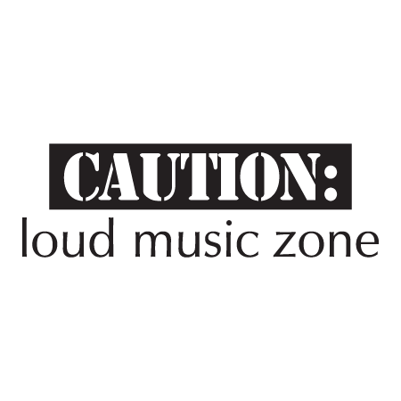 Loud Music Zone Wall Quotes Decal Wallquotes Com