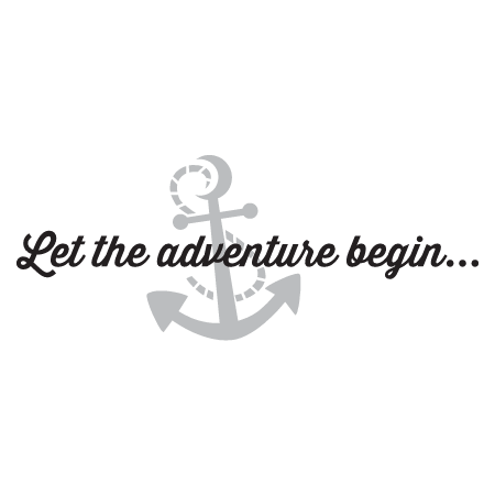 Let The Adventure Begin Wall Quotes Decal Wallquotes Com