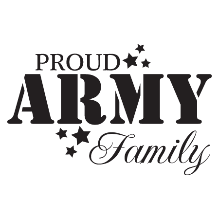 Proud Army Family Wall Quotes Decal Wallquotes Com