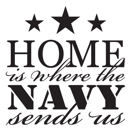 Where The Navy Sends Us Wall Quotes Decal Wallquotes Com