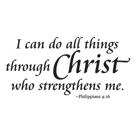I Can Do All Things Wall Quotes Decal Wallquotes Com