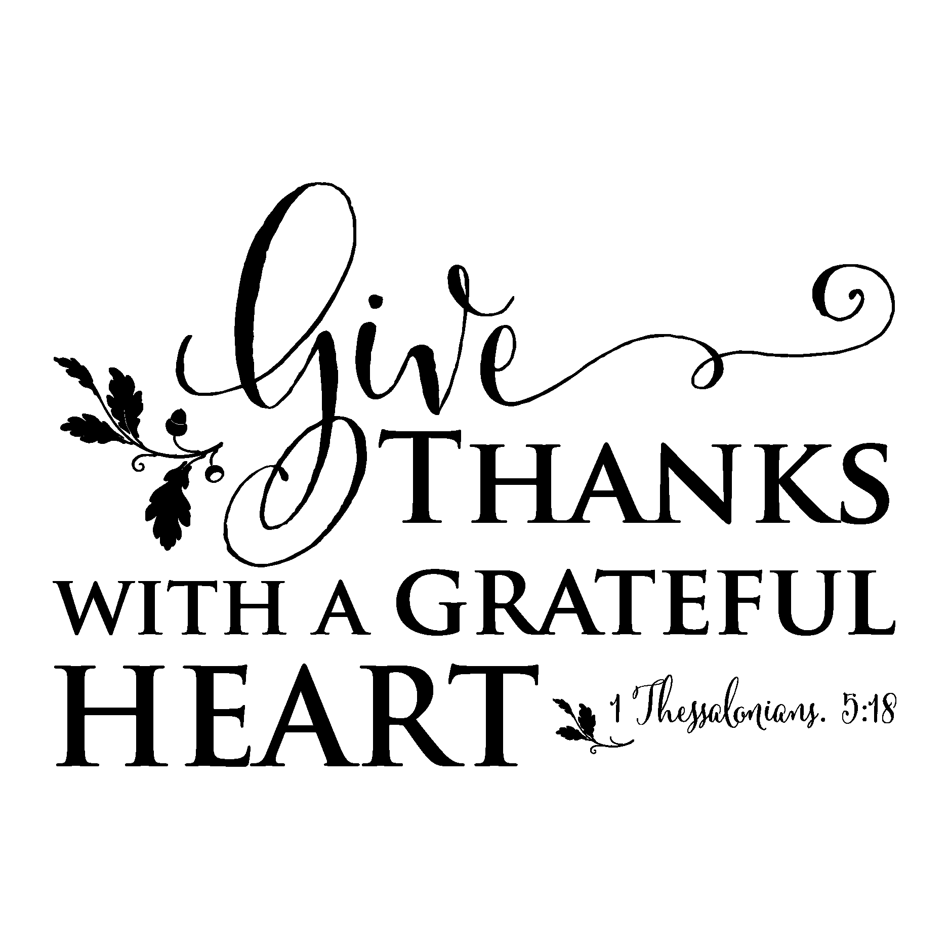 grateful heart wall quotes u2122 decal