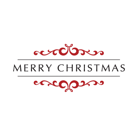 Merry Christmas Embellished Wall Quotes Decal
