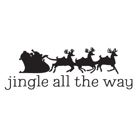 Jingle All The Way Wall Quotes Decal Wallquotes Com