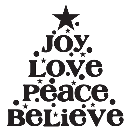 Peace Love Joy Quotes Stunning Joy Love Peace Tree Wall Quotes™ Decal  Wallquotes