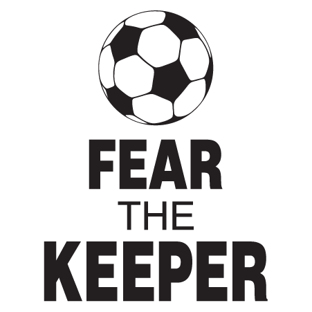 Fear The Keeper Wall Quotes Decal Wallquotes Com