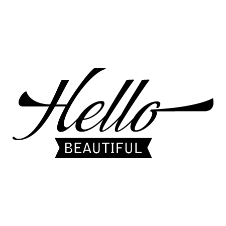 Hello Beautiful Banner Wall Quotes Decal Wallquotes Com